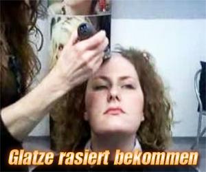 Glatze rasiert bekommen